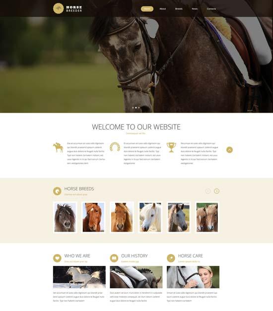 horse-breeder-website-template-53786