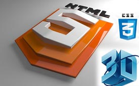 33+ Best HTML5 and CSS3 3D Demo Examples - freshDesignweb