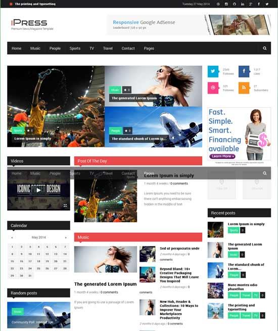 iPress-Responsive-News-Magazine-Drupal-theme