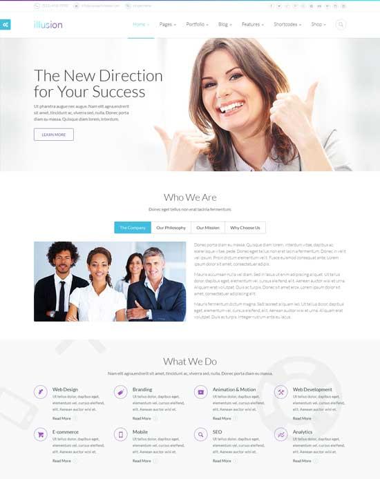 illusion-best-website-template-2014