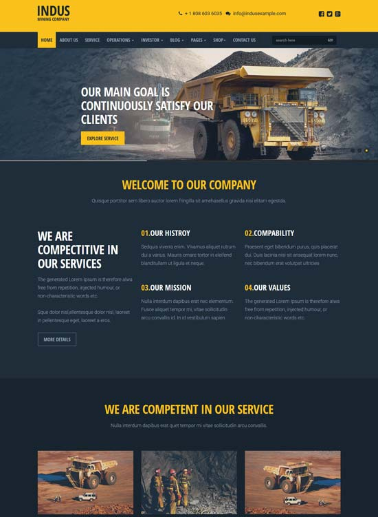 indus-industrial-html-template