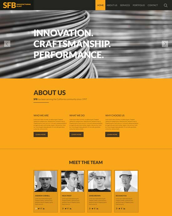 industrial-website-template-57964