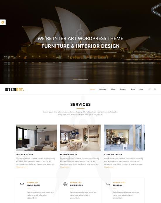 interiart-interior-wordpress-theme