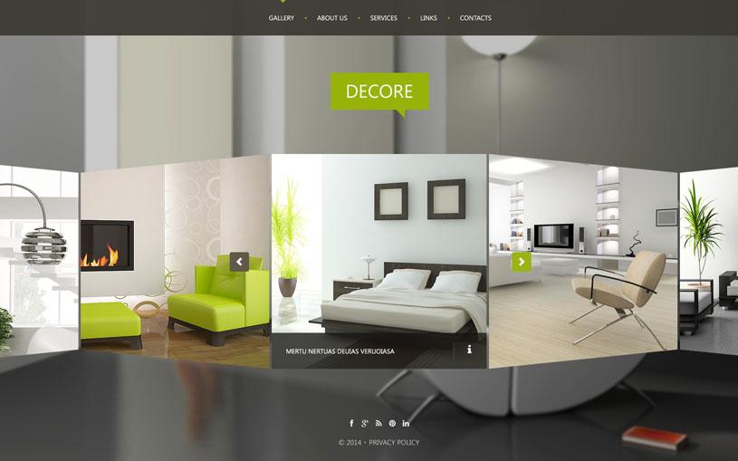 72 Interior Design Furniture Website Templates Freshdesignweb