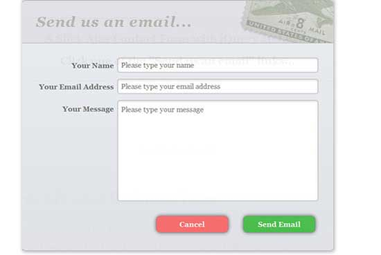 jQuery Contact Form with PHP