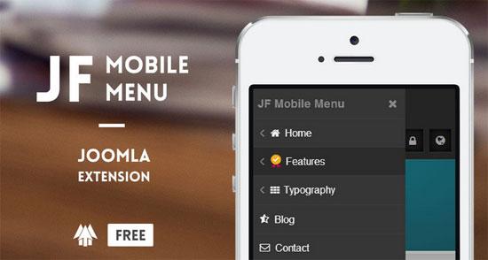jf mobile menu module