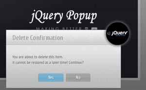 60 jQuery JavaScript CSS Popup Window Dialog Box - freshDesignweb
