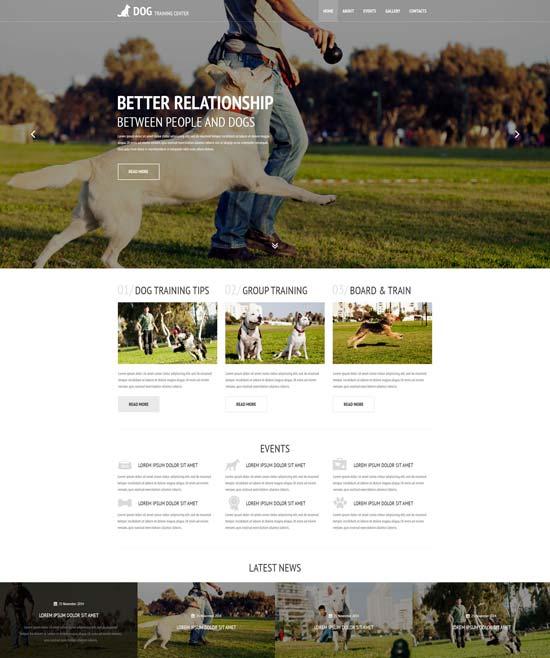 kennel-club-website-template-54816