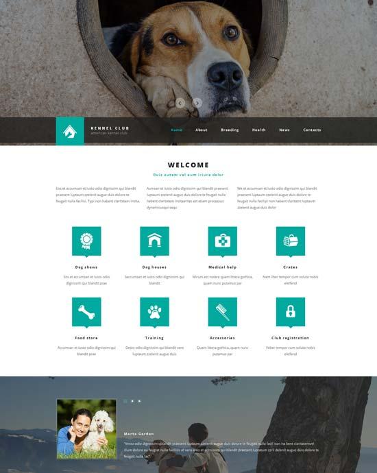 kennel-club-website-template