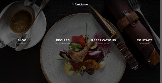 lambiance-restaurant-html5-template