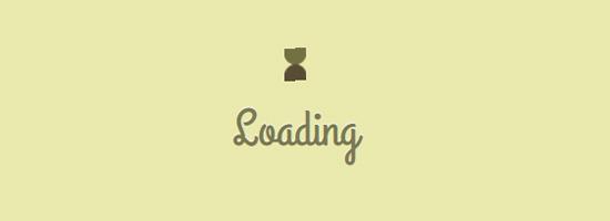loading hourglass