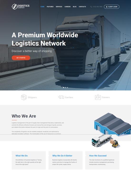 logistics-transportation-warehousing-theme