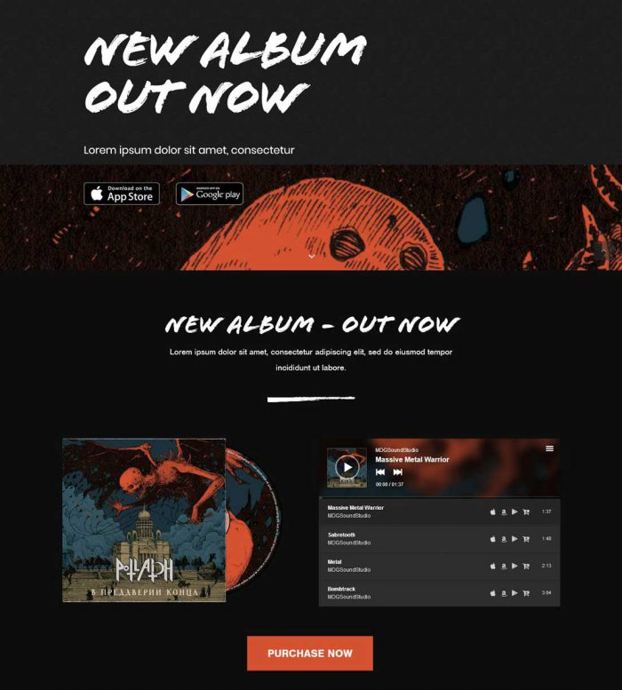 loud music industry wordpress theme