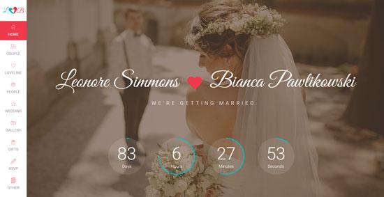 lovebirds-wedding-html-template