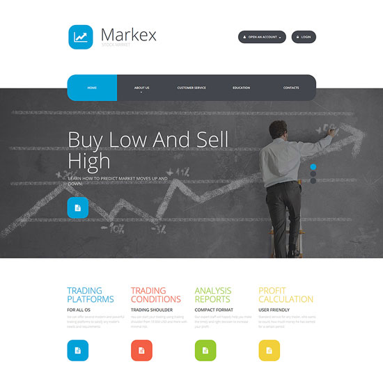 Markex Website Template