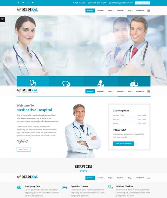 medikal-medical-responsive-html5-template