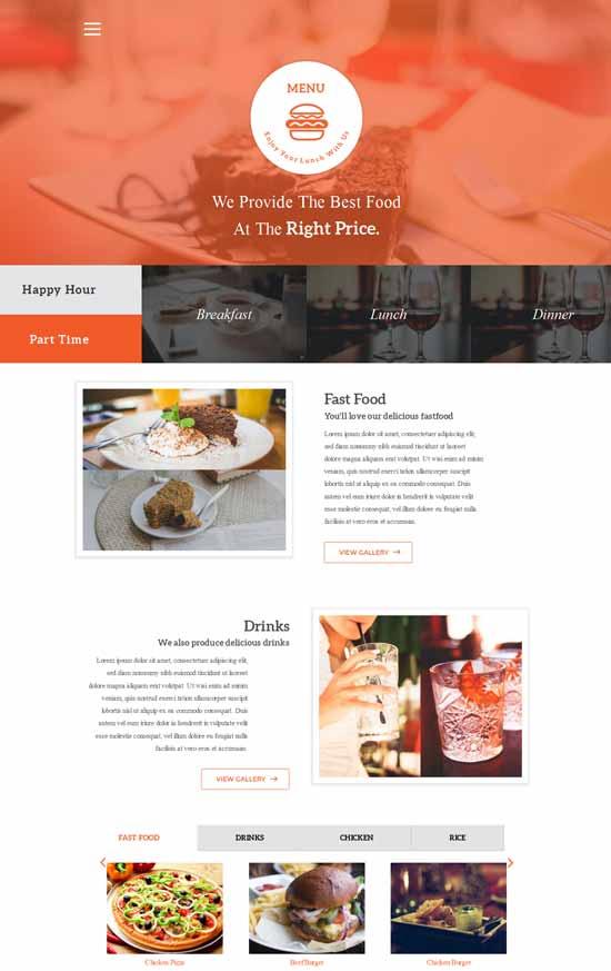 menu-Free-Restaurant-Bootstrap-template