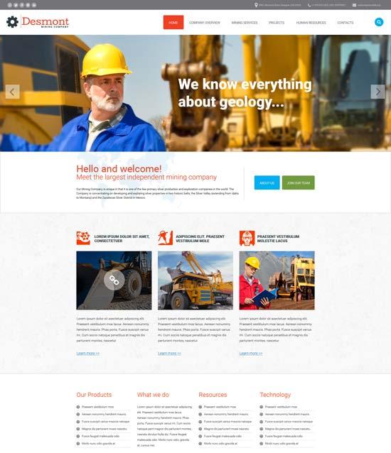 mining-responsive-website-template