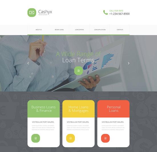 money-lander-website-template