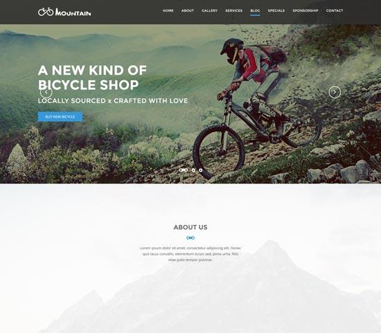 mountain bike sports club template
