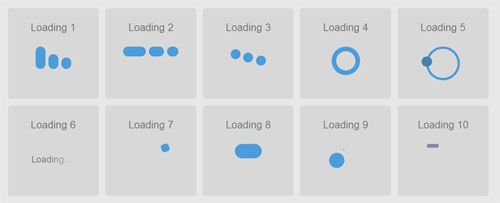 multiple-CSS3-Loading-animations