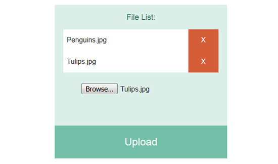Multiple File Uploader