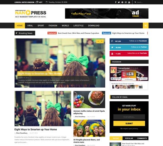 nanopress-new-free-blogger-template