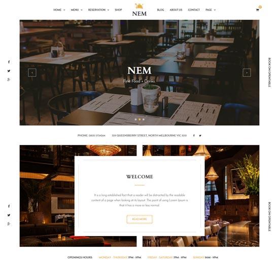 nem-joomla-restaurant-template
