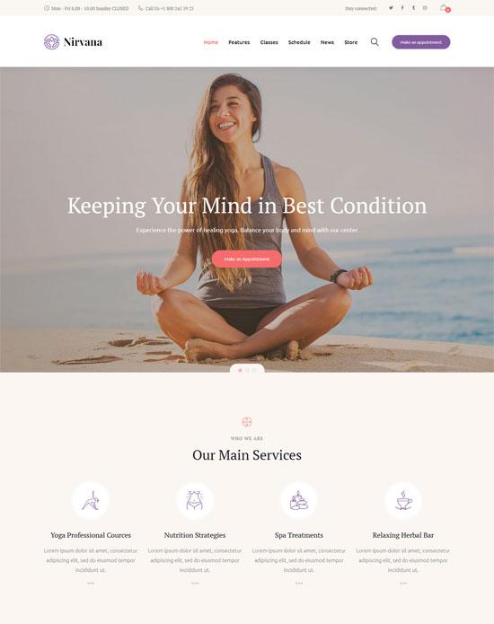 nirvana yoga studio fitness club