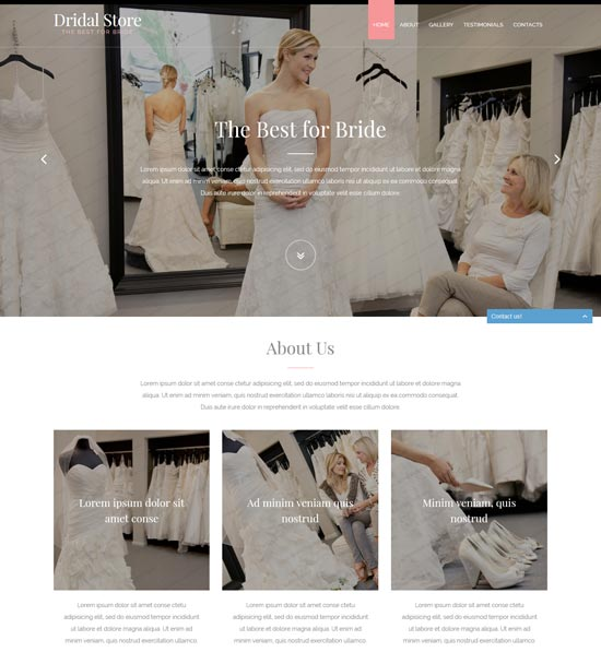perfect-bride-website-template