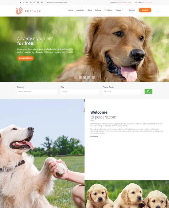 petcare-pet-caretakers-html-template