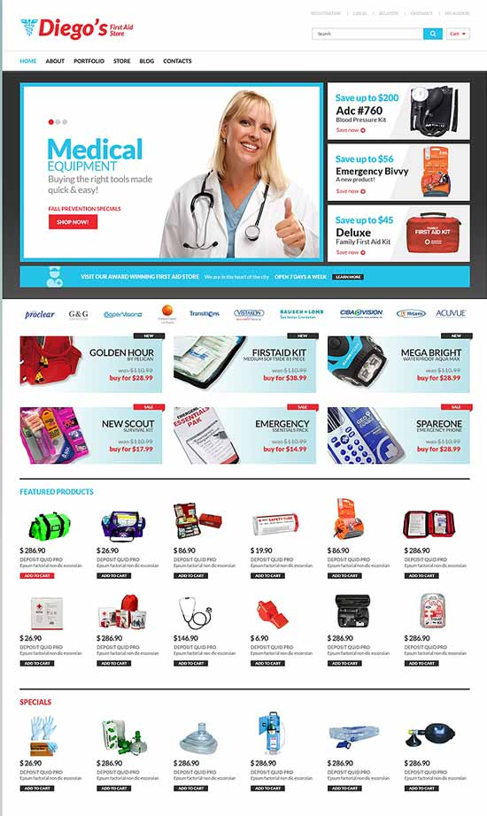 pharmacy-Responsive-WooCommerce-Theme