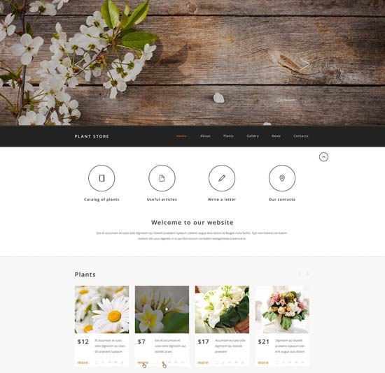 plant-store-website-template