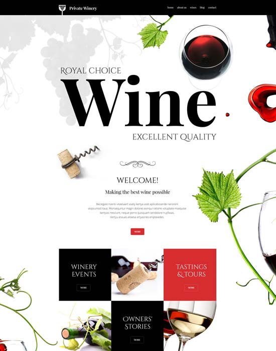 private-winery-theme