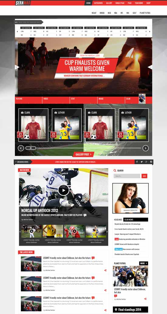 professional-sport-HTML5-template