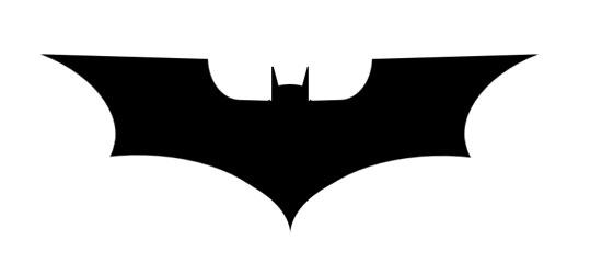 pure css3 batman logo
