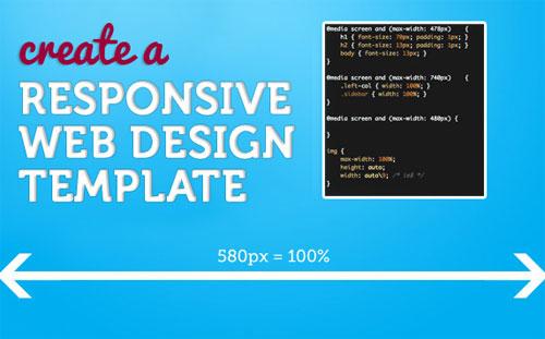 Create a Responsive Web Design Template