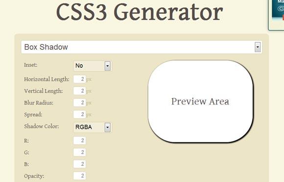 CSS3 Generator Tools Responsive Web Design