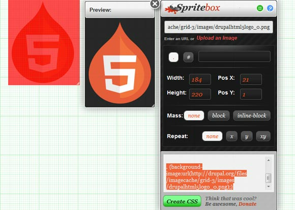 Online Sprite Box Tool  Responsive Web Design