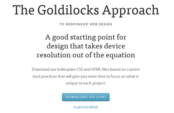 The Goldilocks Approach To Responsive Web Design