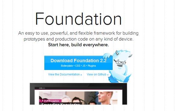 Foundation Responsive Web Design