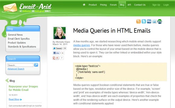 Media Queries in HTML Emails Responsive Web Design