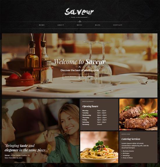 saveur-restaurant-html5-template
