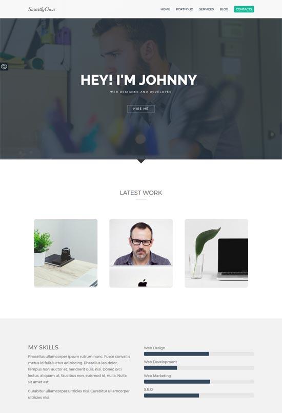 smartly own web designers wordpress theme