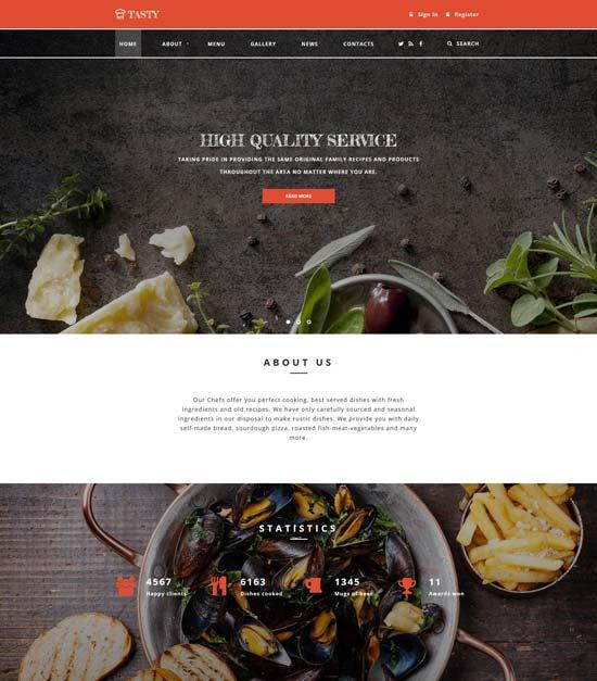 tasty-cafe-website-template