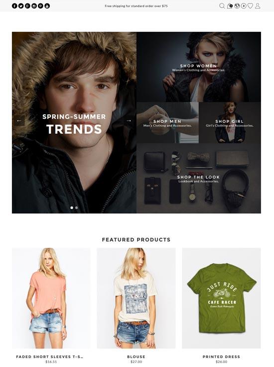 the look fashion prestashop theme