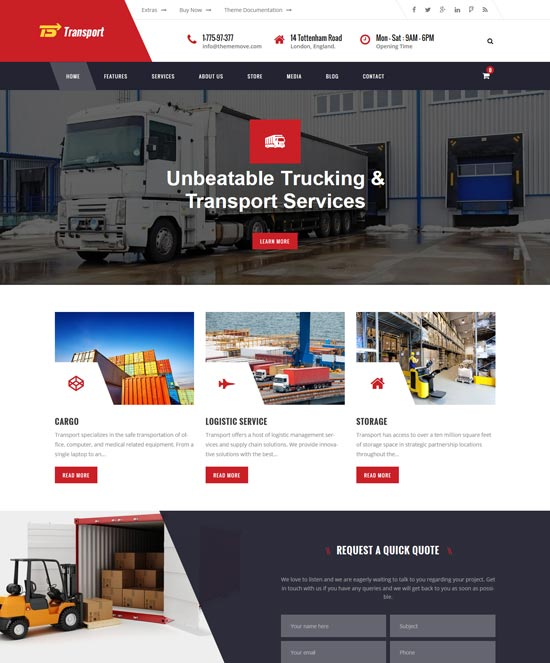 transport transport logistic warehouse wp