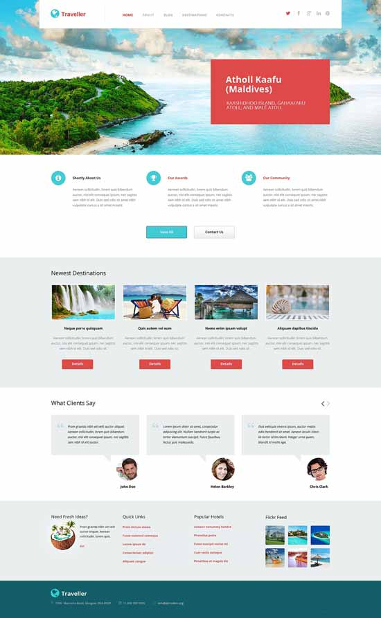 traveller-Travel-Agency-WordPress-Theme