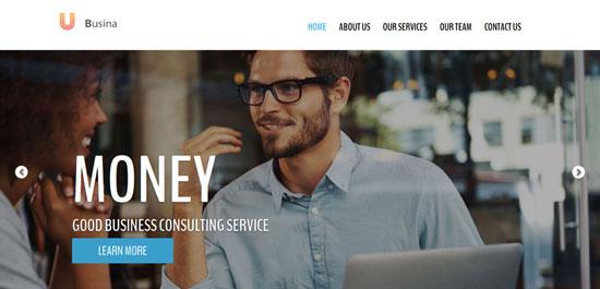 ubusina business html5 theme