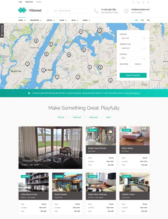 villareal-html5-real-estate-template